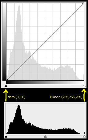 Curve e levels hanno lo stesso asse orizzontale 40008e5c196e
